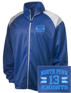 North Penn High School Knights Embroidered Men's Tricot Track Jacket