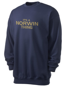 Norwin High School Knights Men's 7.8 oz Lightweight Crewneck Sweatshirt