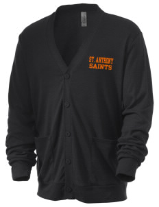 Saint Anthony Catholic School Saints Men's 5.6 oz Triblend Cardigan