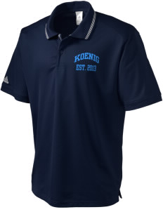 Koenig Elementary School Knights adidas Men's ClimaLite Athletic Polo