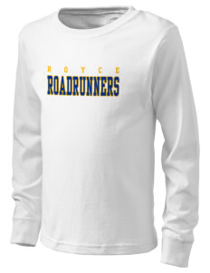 Royce Elementary School Roadrunners  Kid's Long Sleeve T-Shirt