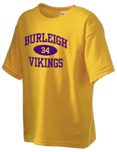 Burleigh Elementary School Vikings Kid's 6.1 oz Ultra Cotton T-Shirt