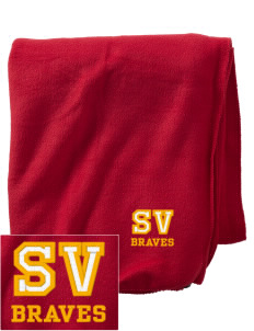 Star Valley High School Braves Embroidered Holloway Stadium Fleece Blanket