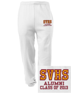 Star Valley High School Braves Embroidered Men's Sweatpants with Pockets
