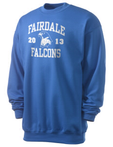 Fairdale Elementary School Falcons Men's 7.8 oz Lightweight Crewneck Sweatshirt