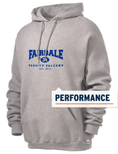 Fairdale Elementary School Falcons Russell Men's Dri-Power Hooded Sweatshirt