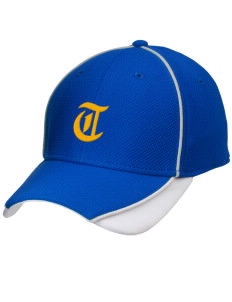 Tice Elementary School Tigers Embroidered New Era Contrast Piped Performance Cap