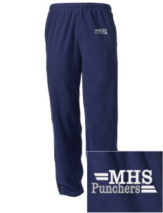 Mason High School Punchers Embroidered Holloway Men's Flash Warmup Pants