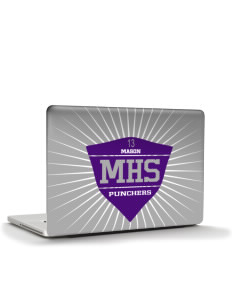 "Mason High School Punchers Apple MacBook Pro 17"" & PowerBook 17"" Skin"