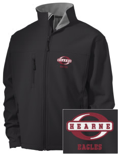 Hearne High School Eagles Embroidered Men's Soft Shell Jacket