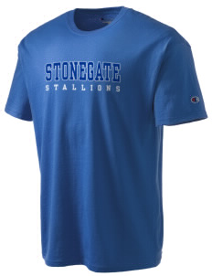 Stonegate Elementary School Stallions Champion Men's Tagless T-Shirt