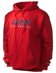 Altamont High School Longhorns Champion Men's Hooded Sweatshirt