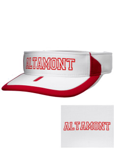 Altamont High School Longhorns Embroidered M2 Sideline Adjustable Visor