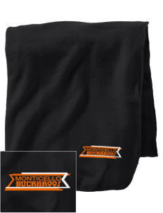 Monticello High School Buckaroos Embroidered Holloway Stadium Fleece Blanket