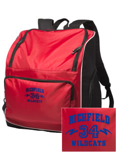 Richfield High School Wildcats Embroidered Holloway Backpack