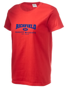 Richfield High School Wildcats Women's 6.1 oz Ultra Cotton T-Shirt