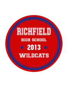 Richfield High School Wildcats Sticker