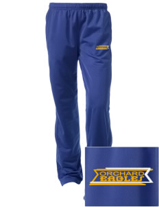 Orchard Elementary School Eagles Embroidered Women's Tricot Track Pants