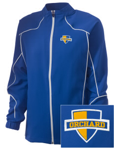 Orchard Elementary School Eagles Embroidered Russell Women's Full Zip Jacket
