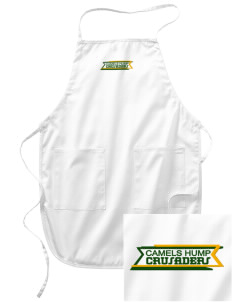 Camels Hump Middle School Crusaders Embroidered Full Length Apron
