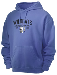 Waits River Valley Elementary School Roadrunners Men's 80/20 Pigment Dyed Hooded Sweatshirt