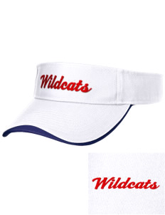 Waits River Valley Elementary School Roadrunners Embroidered Binding Visor