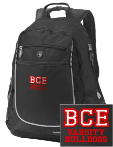 Barre City Elementary Middle School Bulldogs Embroidered OGIO Carbon Backpack