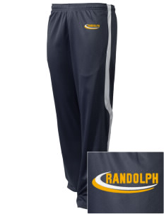 Randolph Elementary School Stars Embroidered Holloway Men's Tricotex Warm Up Pants