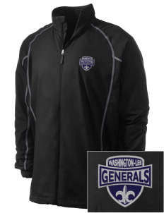 Washington-Lee High School Generals Embroidered Men's Nike Golf Full Zip Wind Jacket