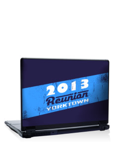 "Yorktown High School Patriots 17"" Laptop Skin"
