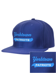 Yorktown High School Patriots Embroidered D-Series Cap