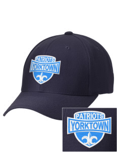 Yorktown High School Patriots Embroidered Wool Adjustable Cap