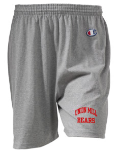 "Union Mill Elementary School Bears  Champion Women's Gym Shorts, 6"" Inseam"