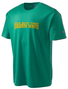 Narrows High School Green Wave Champion Men's Tagless T-Shirt