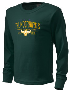 Brighton Elementary School Thunderbirds  Kid's Long Sleeve T-Shirt