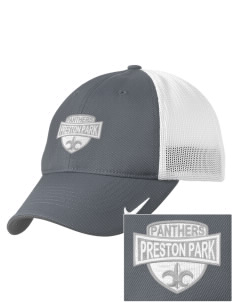 Preston Park Primary School Penguins Embroidered Nike Golf Mesh Back Cap