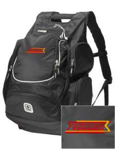 River's Edge High School Firebirds  Embroidered OGIO Bounty Hunter Backpack