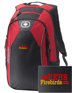 River's Edge High School Firebirds Embroidered OGIO Marshall Backpack