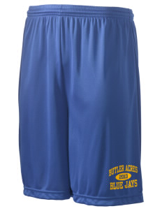 "Butler Acres Elementary School Blue Jays Men's Competitor Short, 9"" Inseam"