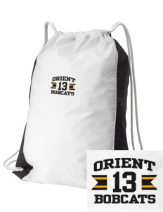 Orient Elementary School Bobcats Embroidered Holloway Home and Away Cinch Bag