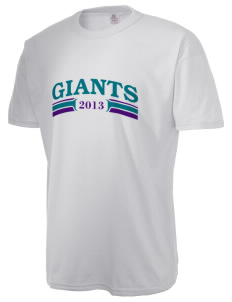 Mountain View Elementary School Giants  Russell Men's NuBlend T-Shirt