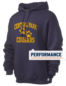 Central Park Elementary School Cougars Russell Men's Dri-Power Hooded Sweatshirt