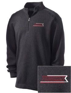 Cosmopolis Elementary School Cougars Embroidered Nike Men's Golf Heather Cover Up