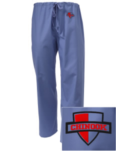 Chinook Middle School Thunderbirds Embroidered Scrub Pants