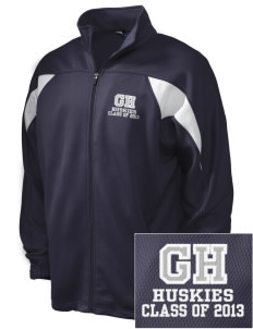 Gregory Heights Elementary School Huskies Embroidered Holloway Men's Full-Zip Track Jacket