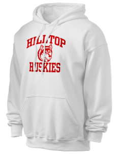 Hilltop Elementary School Huskies Ultra Blend 50/50 Hooded Sweatshirt