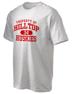 Hilltop Elementary School Huskies Ultra Cotton T-Shirt