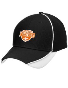 Mount View Elementary School Tigers Embroidered New Era Contrast Piped Performance Cap