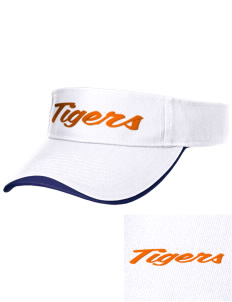 Mount View Elementary School Tigers Embroidered Binding Visor