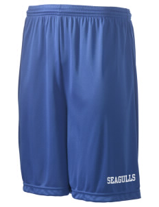 "Shorewood Elementary School Seagulls Men's Competitor Short, 9"" Inseam"